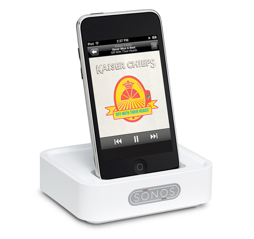 Sonos WD 100 - wireless iPod docking station