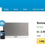 Priskrig på Sonos Zoneplayer S5 – køb nu med 17% rabat