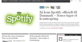 Nyt navn og nyt design – velkommen på Sonosguiden