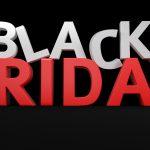 Black Friday banner - gode priser med rabat og tilbud